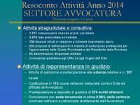 Attivita avvocatura anno 2014