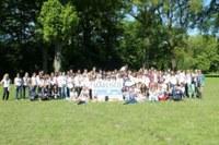 Una foto di gruppo dei ragazzi che hanno partecipato agli EMD