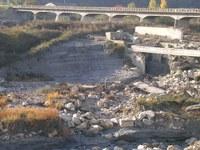 ponte sul fiume vomano