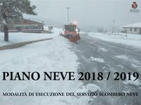 Piano neve 2018 / 2019 della Provincia di Teramo