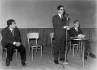 11 novembre 1964 - Presidenza presso il Teatro Comunale. Presentazione de Il Vangelo secondo Matteo.