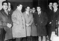 16 dicembre 1961 - Gruppo all'interno del Bar Trocadero (attuale Derby)