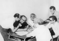 28 o 29 giugno 1970 Alba Adriatica - Premio Mazzacurati: riunione della giuria