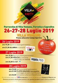 1° VILLAge Party: un'intera frazione che festeggia l'estate, promuovendo i prodotti della propria terra