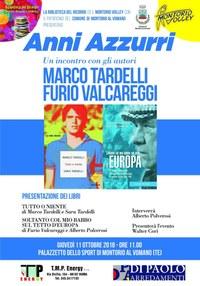 """""""Anni Azzurri"""": incontro con Marco Tardelli e Fulvio Valcareggi"""