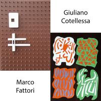 """""""Contrasti 2"""" - bipersonale di Marco Fattori e Giuliano Cotellessa"""