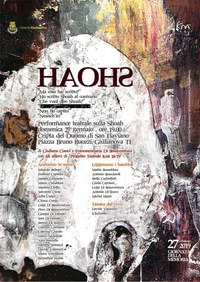 """""""HAOHS"""", performance teatrale dell'Associazione Culturale Knà per la giornata della memoria"""