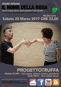 """""""Progetto truffa"""" Musica Live - Circolo virtuoso Il nome della Rosa - Giulianova"""