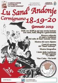 """25esima edizione de """"Lu Sand'Andonje"""" di Cermignano"""