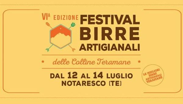 6° Festival delle birre artigianali delle colline Teramane