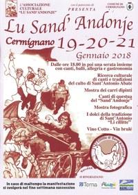 """Al via la 24esima edizione de """"Lu Sand'Andonje"""" di Cermignano"""