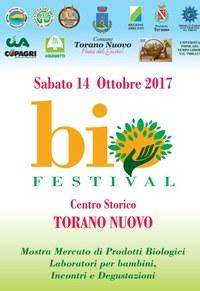 BioFestival: a Torano Nuovo mostra mercato di prodotti biologici e tanto altro