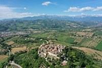 Castelbasso veduta aerea 2