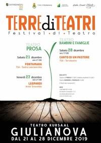 """Festival di teatro """"TERRE DI TEATRI"""""""