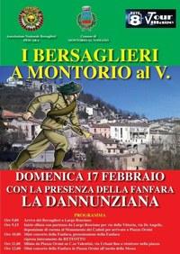 """Il 17 febbraio i Bersaglieri a Montorio con la presenza della Fanfara """"La Dannunziana"""""""