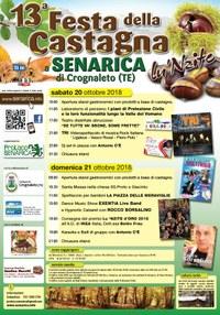Il 20 e 21 ottobre la 13^ Festa della Castagna di Senarica con la premiazione di Ikea Italia
