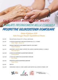 La Asl celebra la Giornata Mondiale del Malato con un importante convegno sull'assistenza domiciliare