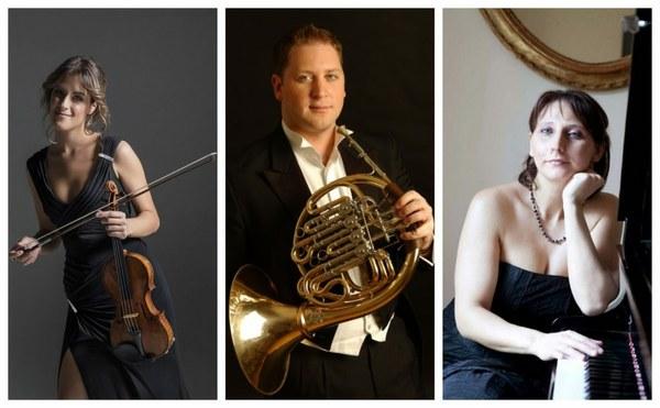 Riccitelli - Martin Owen, Francesca Dego e Maria Perrotta in concerto