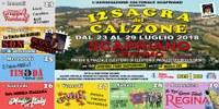 Locandina Sagra del Calzone Campovalano 23 - 29 luglio 2018