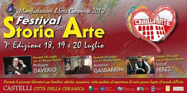 VII Festival della Storia dell'Arte a Castelli con Philippe Daverio