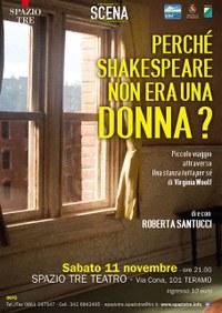locandina Spettacolo Teatrale Perche Shakespeare non era una Donna.jpeg