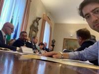 Di Bonaventura in audizione alla Prefettura di Ancona Commissione Senato Industria