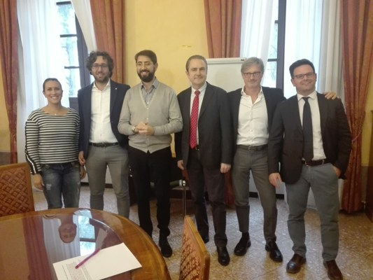 Assegnate le deleghe: il Presidente mantiene pianificazione, programmazione e marketing territoriale. A Severino Serrani la vicepresidenza.