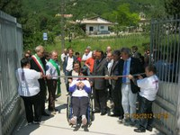 L'inaugurazione del centro diurno di Villa Brozzi
