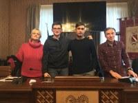 i presidenti della consulta con la coordinatrice e il referente