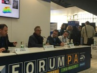 """La Provincia a ForumPA: prima amministrazione pubblica in Italia insieme al Comune di Napoli ad utilizzare la tecnologia """"laser scanner"""" e il sistema BIM."""