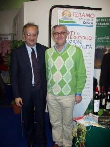 Il sindaco di Roma, Walter Veltroni, alla degustazione dei nostri prodotti enogastronomici