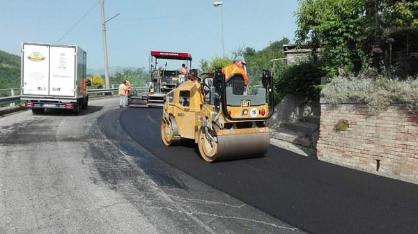 Piano manutenzioni: iniziati i lavori sulla provinciale 365