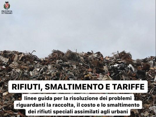Rifiuti, smaltimento e tariffe: linee guida per la risoluzione dei problemi riguardanti la raccolta, il costo e lo smaltimento dei rifiuti speciali assimilati agli urbani.