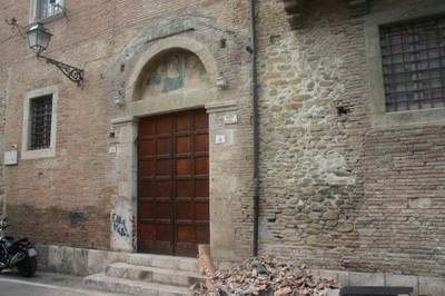Casa del Mutilato - Particolare della Madonnina
