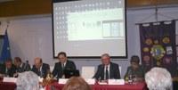Da sinistra Ciufo, Cianciotta, Lo Bello, Ballone, Lanciotti e la mediatrice Pina Manente