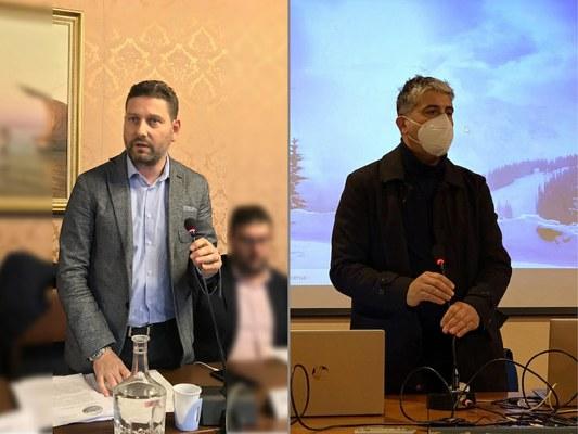 Ultimo Consiglio per il vicepresidente Recchiuti di Roseto e per il consigliere Di Marco, sindaco di Castellalto; due Comuni al voto.