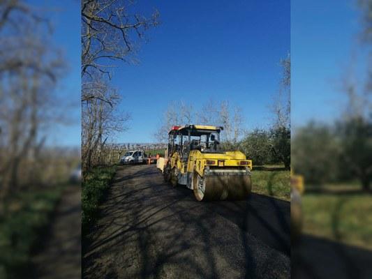 Viabilità: aperto il cantiere sulla provinciale 10. Nelle prossime settimane previsti altri interventi in Val Vibrata.